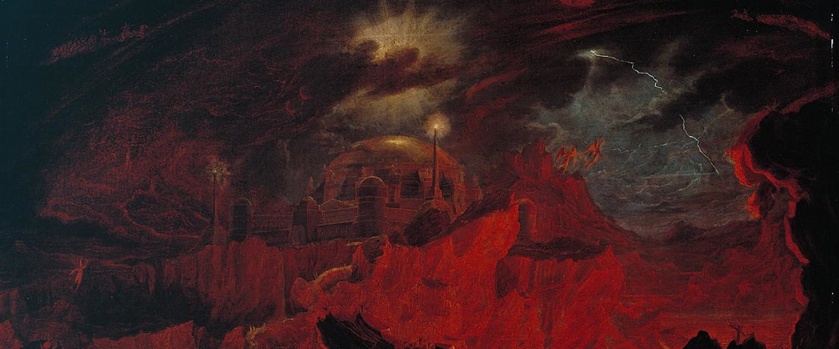 John Martin, Fallen Angels in Hell