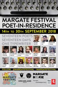 Margate Festival 2018 Poet-in-Residence