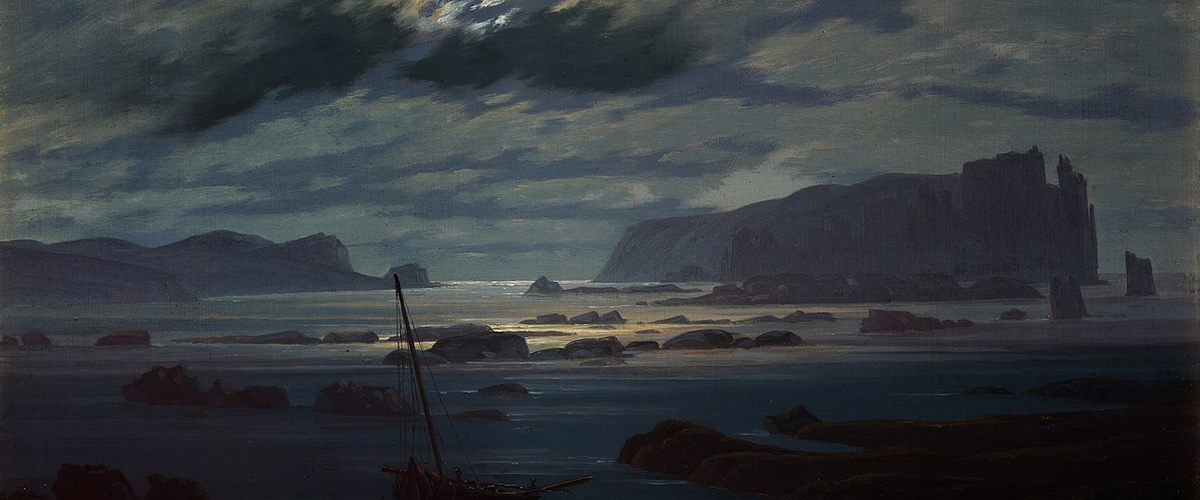 Caspar David Friedrich, Northern Sea in the Moonlight