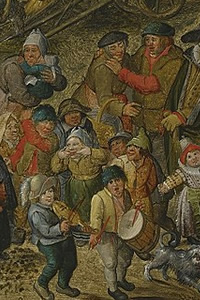 Pieter Breughel the Younger, The Whitsun Bride